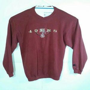 VTG Starter San Francisco 49ers Sweatshirt USA EUC